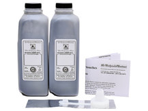2 Bottles of Toner for HP C4127 (#27), C4129 (#29) and C8061 (#61)
