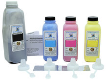 4 Colour Laser Toner Refill Kit for SAMSUNG CLP-500