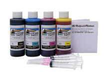 120ml Refill Kit for HP DesignJet 70, 100, 110, 111, 500, 510, 800, 815, 820, cc800ps