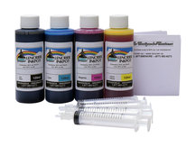 120ml Refill Kit for HP DesignJet T100, T120, T125, T130, T210, T230, T520, T525, T530, T630, T650, Studio