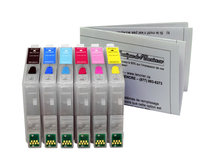 Refillable Cartridges for EPSON (T0481-T0486)