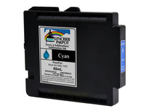 CYAN 60ml Dye Sublimation Ink Cartridge for RICOH GX 5050, GX 7000 (GC21)