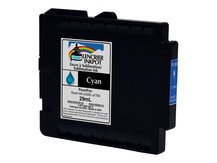 CYAN 29ml Dye Sublimation Ink Cartridge for RICOH GX e3300, GX e7700 (GC31)