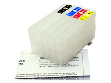 Refillable Cartridges for EPSON (802, 802XL) *NORTH AMERICAN VERSION*