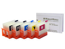 Refillable Cartridges for EPSON XP-6000, XP-6100 (302, 302XL) *NORTH AMERICAN VERSION*