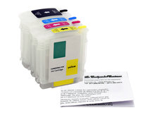 Refillable Cartridges for HP DesignJet 70, 100, 110