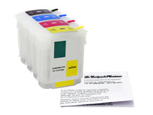 Refillable Cartridges for HP DesignJet 500, 800, 815, 820, cc800ps