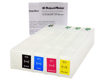 Refillable Cartridges for HP 970, 970XL, 971, 971XL