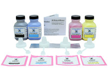 4 Colour Laser Toner Refill Kit for SAMSUNG CLP-300