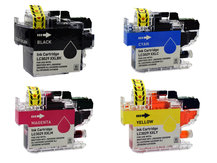 Special Set of 4 Compatible Cartridges to replace BROTHER LC3029