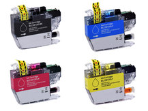 Special Set of 4 Compatible Cartridges to replace BROTHER LC3013