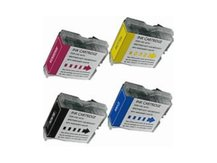 Special Set of 4 Compatible Cartridges to replace BROTHER LC51