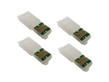 Single-Use Chips (set of 4) for EPSON 202, 202XL (WF-2860, XP-5100) (NORTH AMERICAN VERSION)