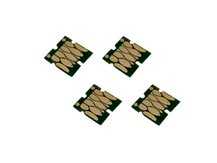 Single-Use Chips (set of 4) for EPSON 802, 802XL (NORTH AMERICAN VERSION)