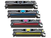 Special Set of 4 Cartridges to replace HP Q3960A-Q3961A-Q3962A-Q3963A